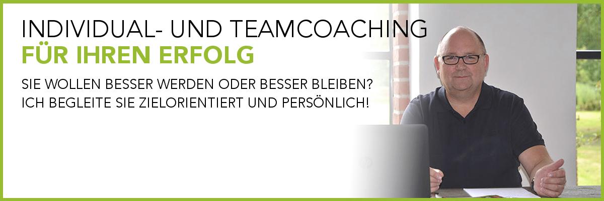 Individual und Teamcoaching für Ihren Erfolg